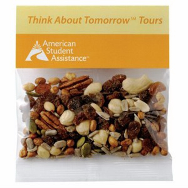 Imprinted 2 oz Trail Mix / Header Bag
