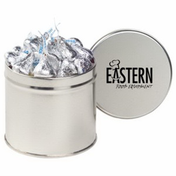Custom Half Quart Round Tin / Hershey's Kisses (R)