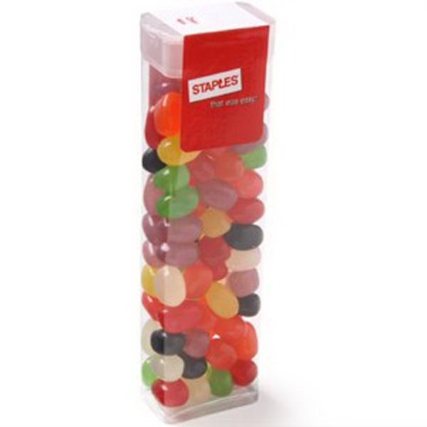 Custom Flip Top Candy Dispenser / Jelly Beans Assorted