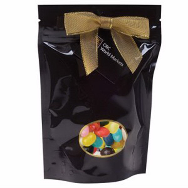 Imprinted Large Window Bag with Jelly Belly® Beans