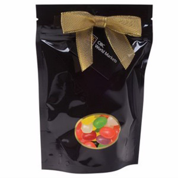 Printed Large Window Bag with Jelly Beans (Assorted)