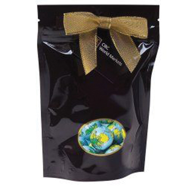 Custom Large Window Bag with Chocolate Earth Balls