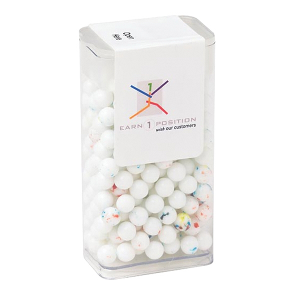 Promotional Flip Top Candy Dispenser / Mini Jawbreakers