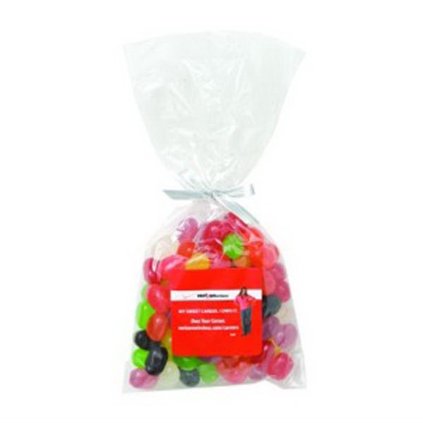 Imprinted Mug Stuffer Bag / Jelly Beans (Assorted 6 oz)