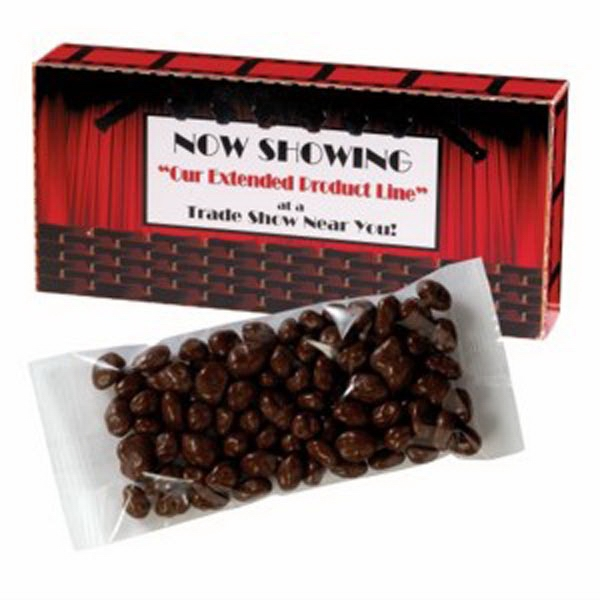 Promotional Movie Theatre Box / Chocolate Peanuts