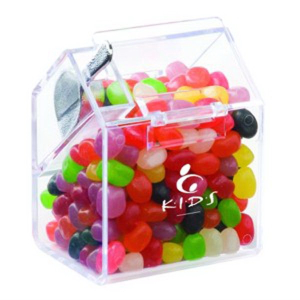 Customized Bin with Scoop / Jelly Beans Assorted
