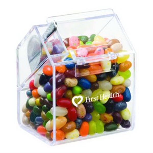 Imprinted Bin with Scoop / Jelly Belly (R) Jelly Beans