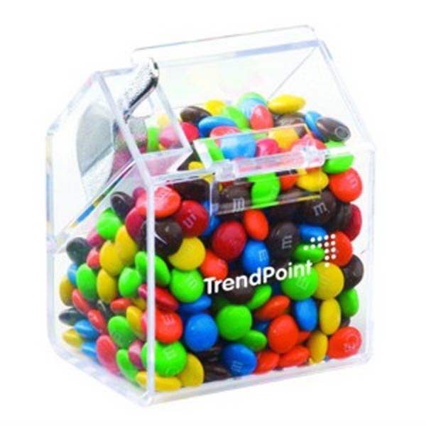 Personalized Bin with Scoop / Chocolate Covered Candies