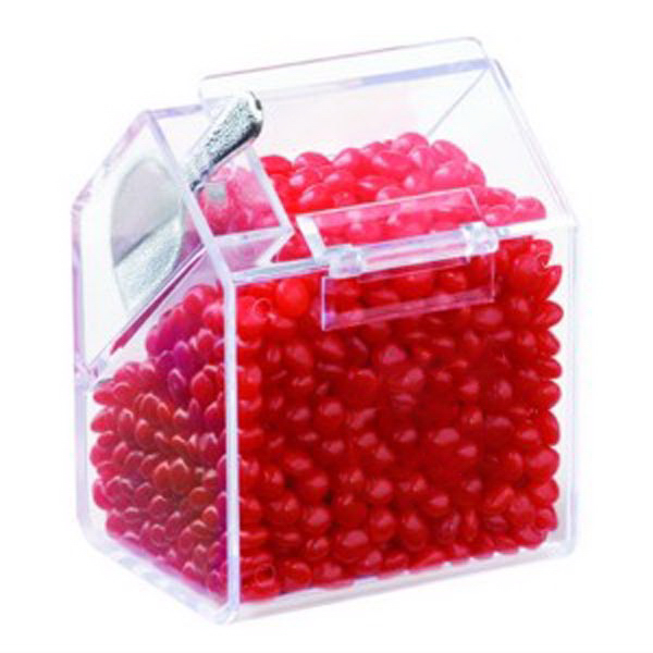 Printed Bin with Scoop / Red Hots (R)