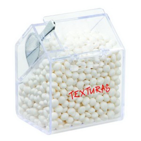 Customized Bin with Scoop / White Mints