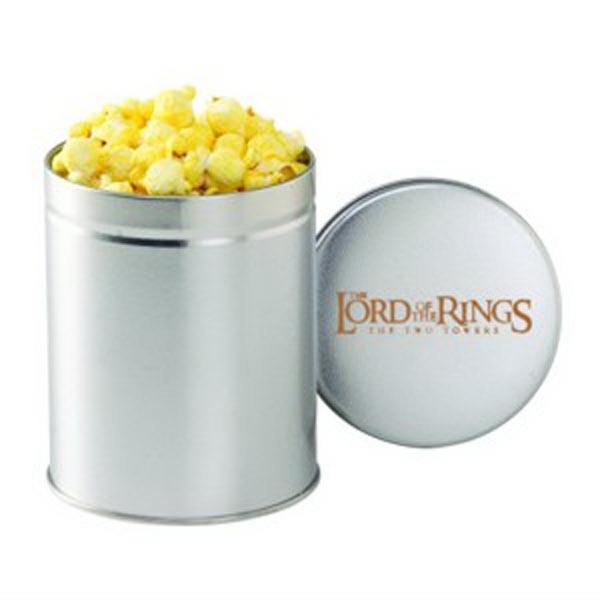 Printed Quart Round Tin / Butter Popcorn