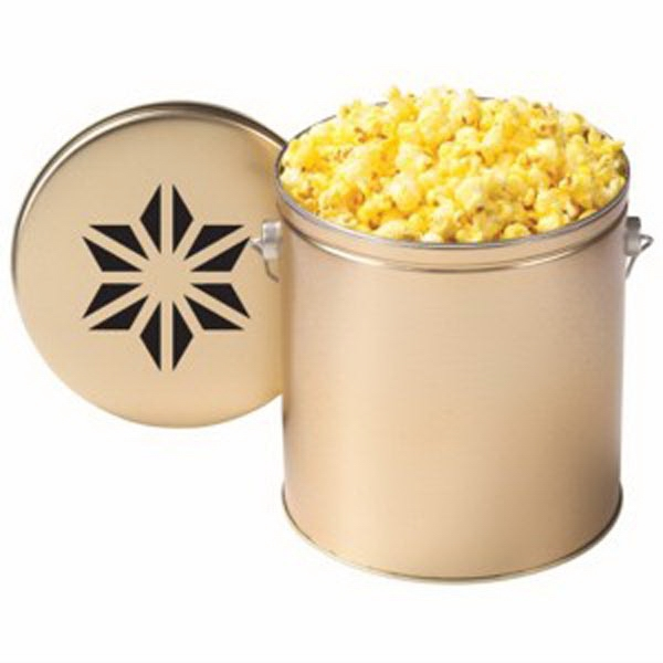 Custom Gallon Tin / Classic Butter Popcorn