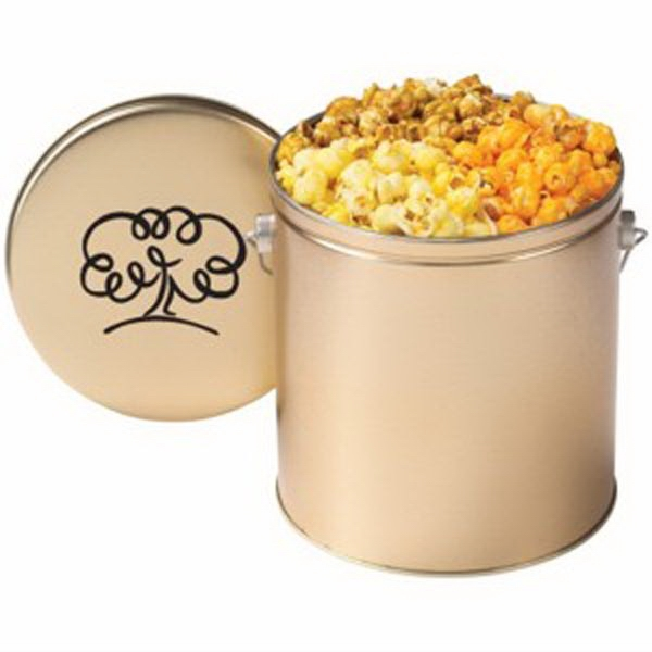 Customized Gallon Tin / Three Way Popcorn