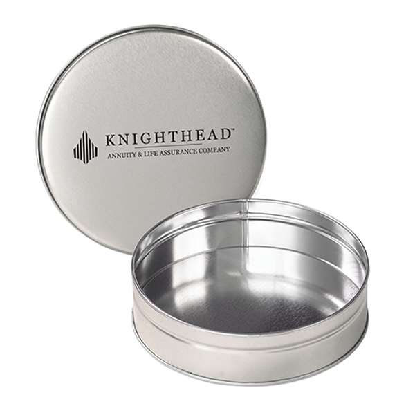Promotional Empty Candy/Nut/Snack Tin