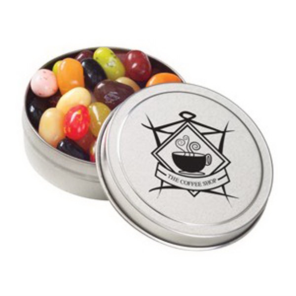 Printed Small Round Tin / Jelly Belly (R) Jelly Beans
