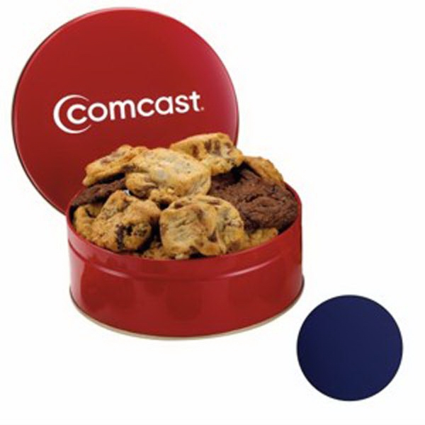 Custom Snack Tin with Gourmet Cookies