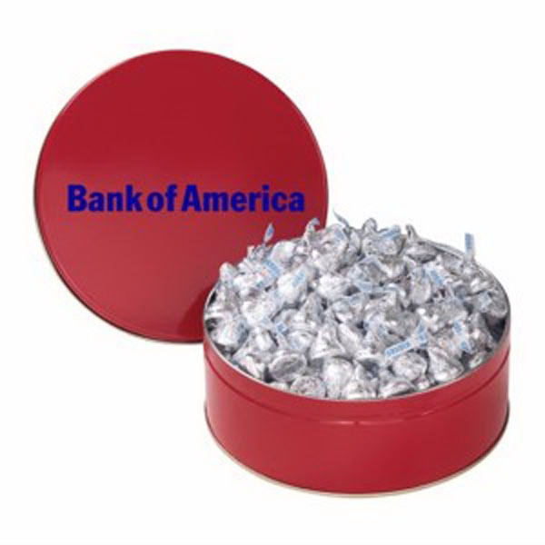Promotional Snack Tin with Hershey's Kisses®