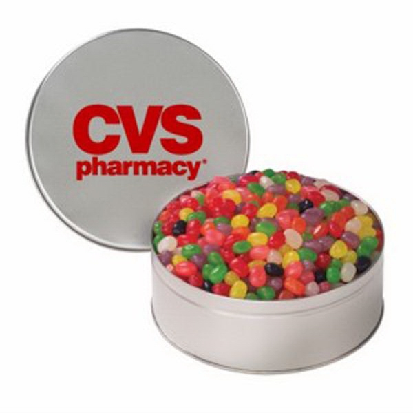 Personalized Snack Tin with Jelly Beans