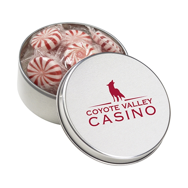 Customized Large Round Tin / Starlight Mints