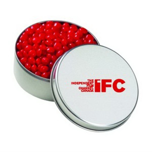Custom Large Round Tin / Red Hots (R)