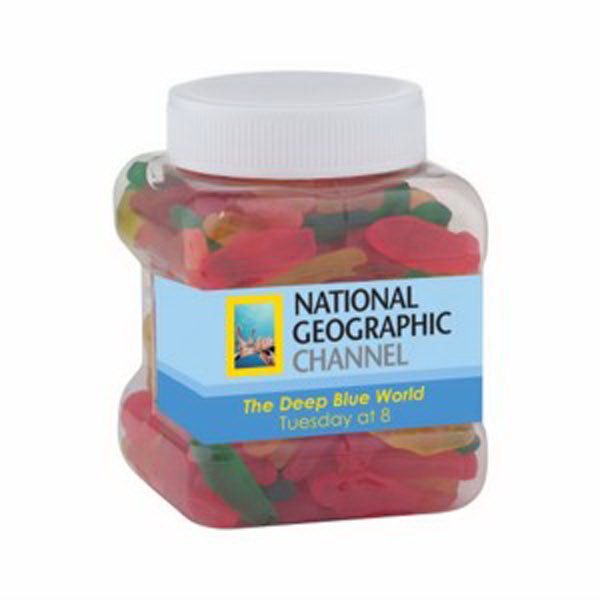 Personalized Easy Grip Container / Swedish Fish (R) (Small)
