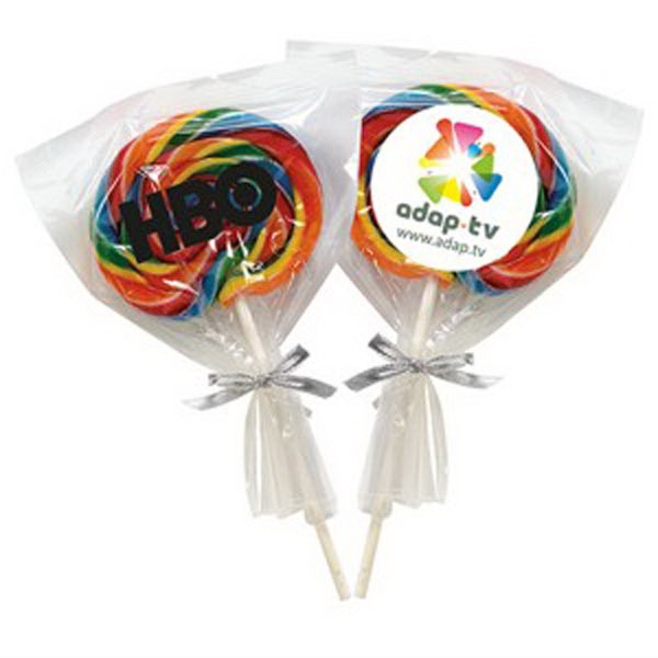 Imprinted Swirl Lollipop