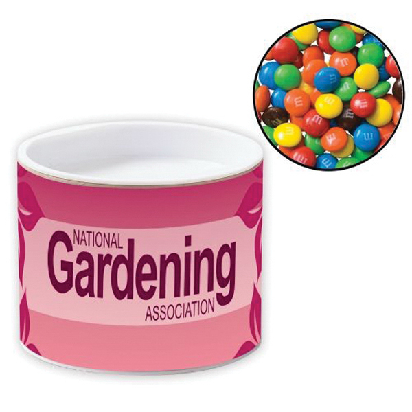 Printed Pop-Top Container / Chocolate Covered Candies