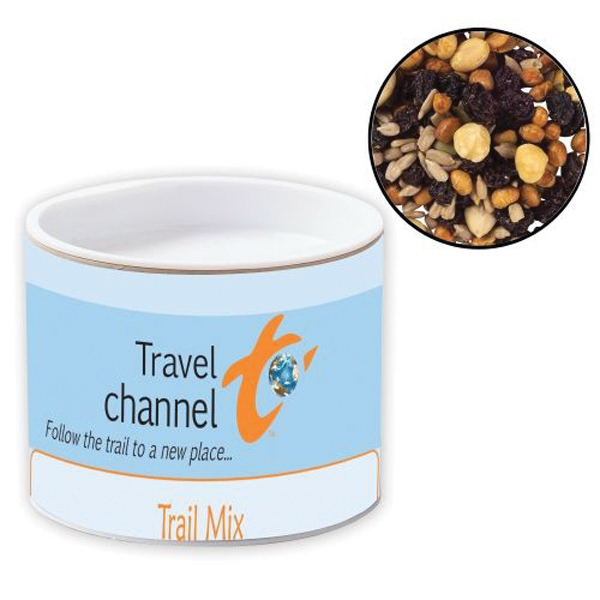 Imprinted Pop-Top Container / Trail Mix
