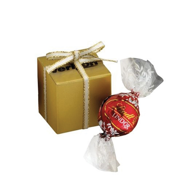 Custom Chocolate Gift Box / 1 Lindt (R) Truffle