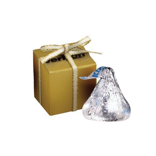 Custom Chocolate Gift Box / Hershey's Kisses (R) (4)