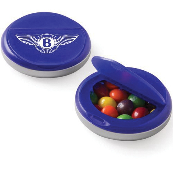 Personalized Snap Top Candy Case / Skittles®