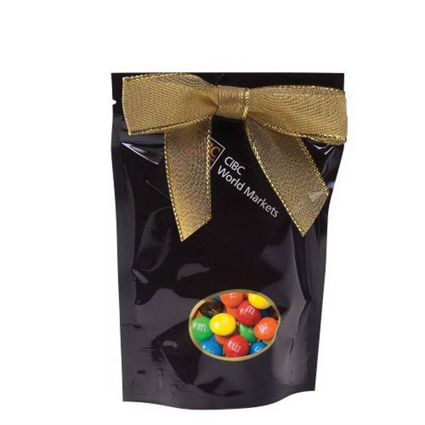 Personalized Small Window Bag with Candy Coated Chocolates