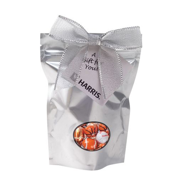 Printed Small Window Bag with Chocolate Sports Ball