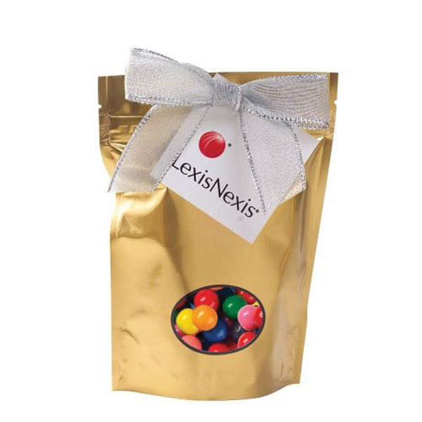 Promotional Small Window Bag with Gumballs