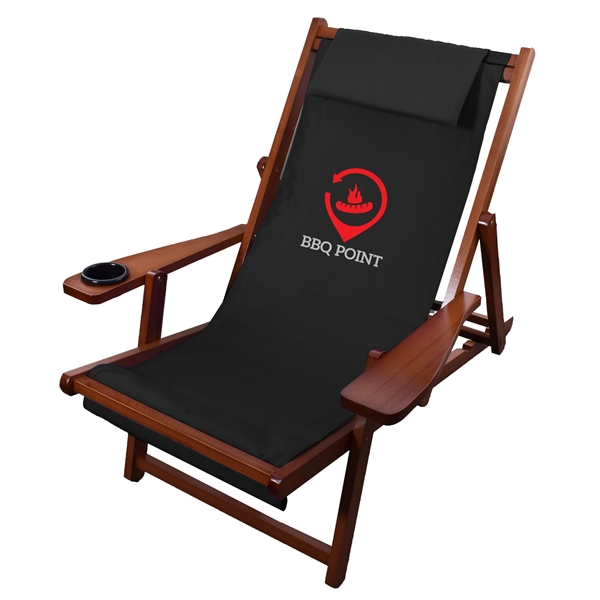 Customized Wood Sling Chair