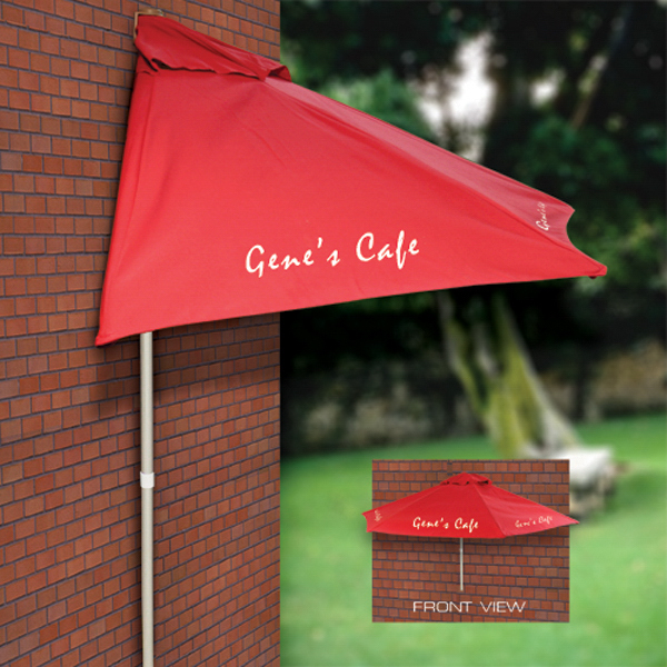 Custom Market Umbrella for Display or Sidewalk Cafe