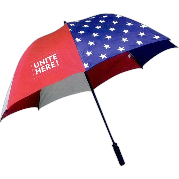 Printed Domestic Fiberglass Golf Umbrella