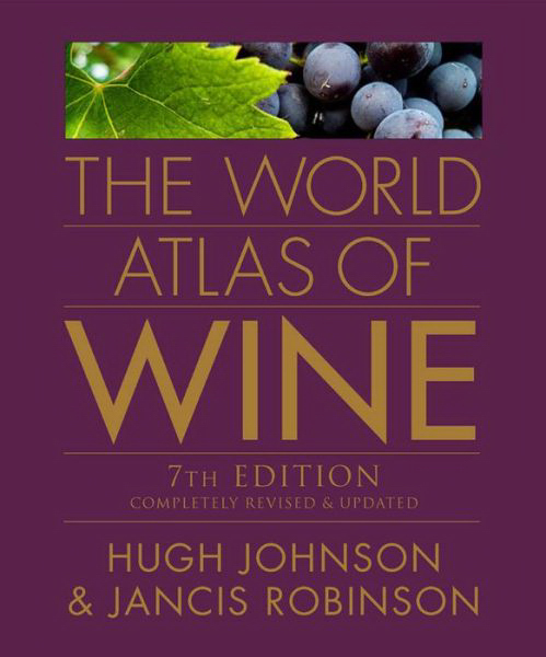 Imprinted World Atlas of Wine