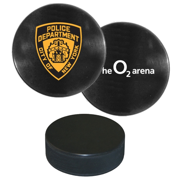 Custom Regulation size and weight hockey puck