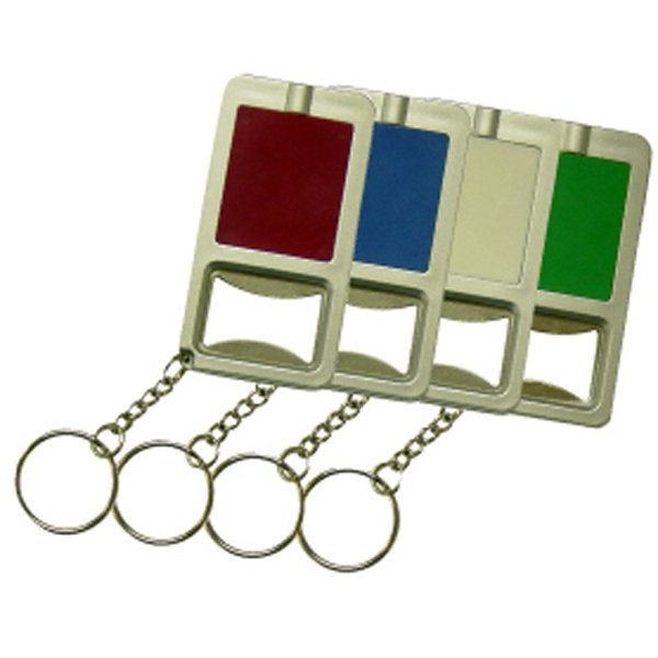 Imprinted Bottle opener key chain