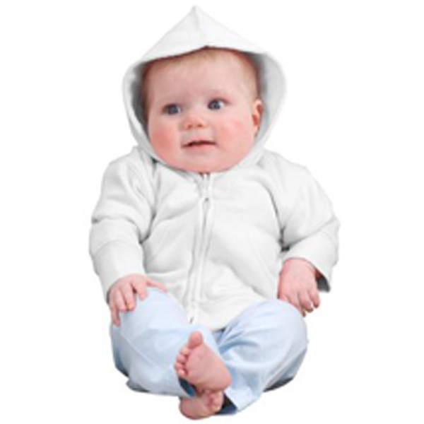 Custom Precious Cargo® infant full-zip hoodie