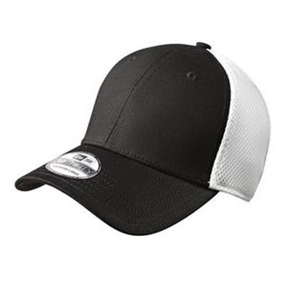 Customized New Era® stretch mesh cap