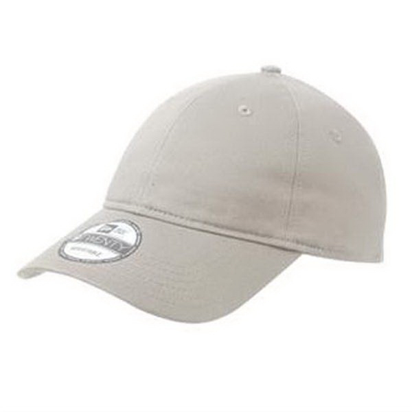 Imprinted New Era® adjustable unstructured cap