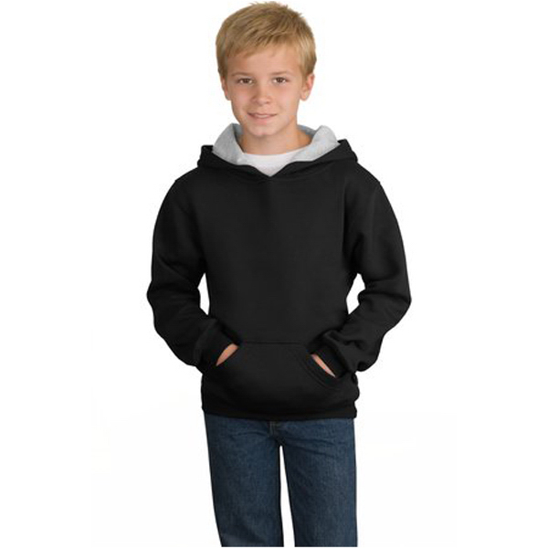Personalized Sport-Tek® youth pullover hooded sweatshirt