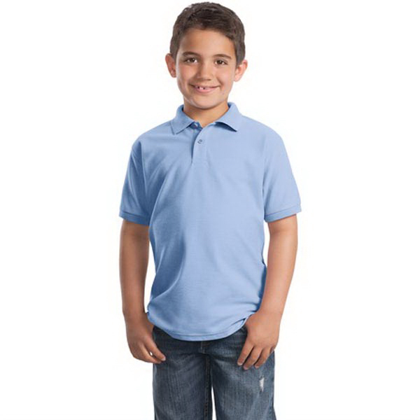 Promotional Port Authority® youth Silk Touch polo