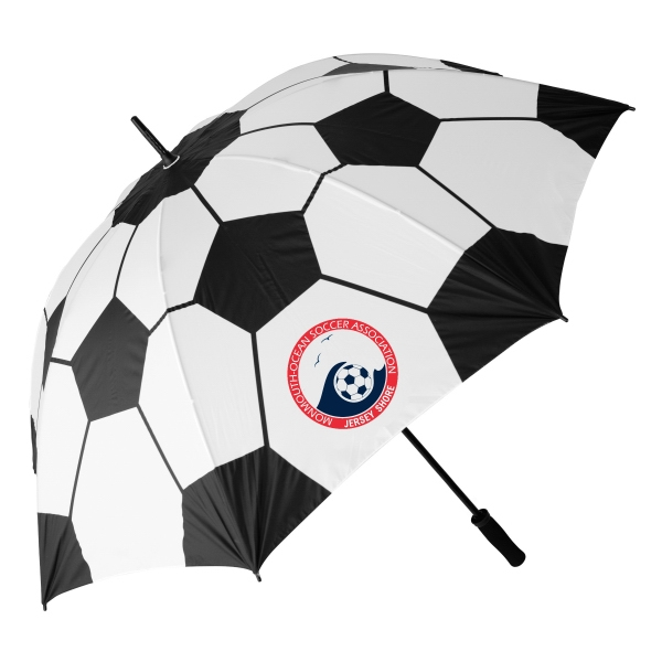 Personalized Soccer ball Specialty Umbrella