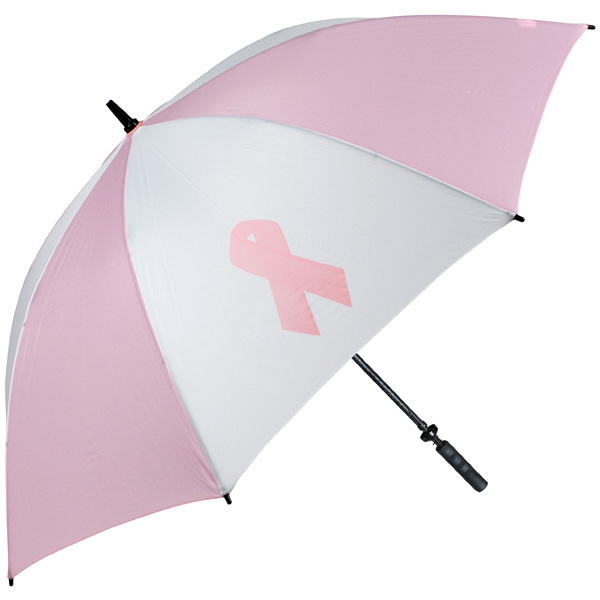 Printed Pro-Line (TM) single canopy golf umbrella