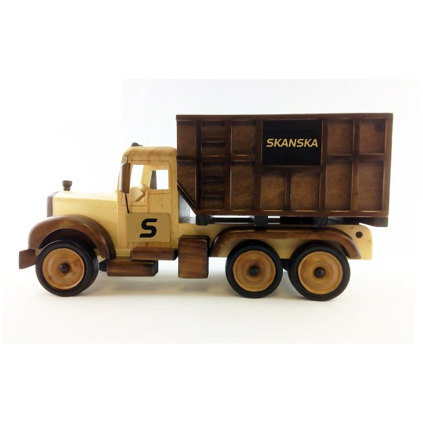 Customized Wooden Dump Truck - Empty