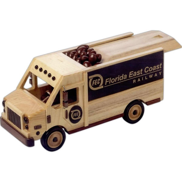 Custom Deluxe Mixed Nuts in Delivery Van