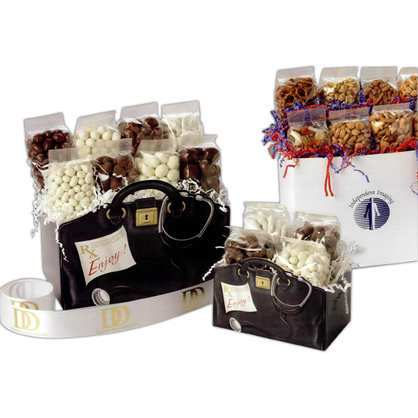 Imprinted Small Snack Lovers Theme Gift Box